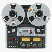 3ds max reel tape recorder studer