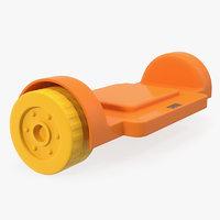 magnetic designer wheels platform 3D model