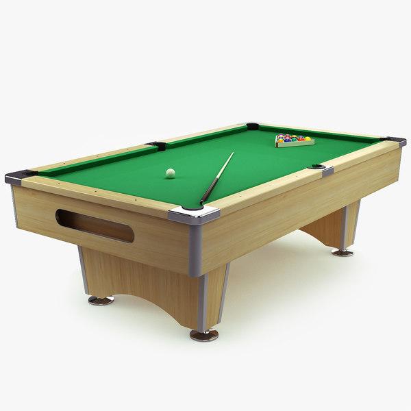 billiard table max free