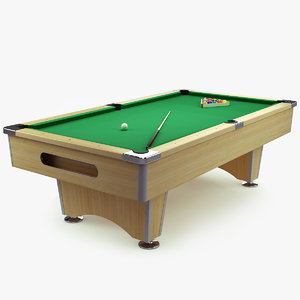 billiard table max free