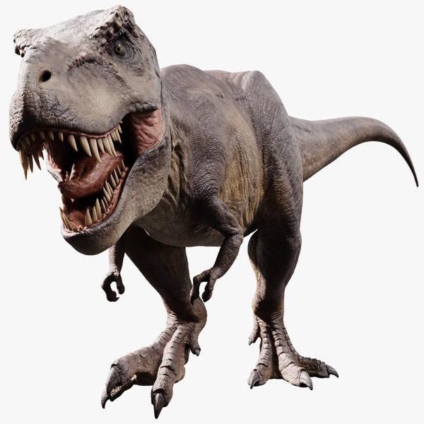 3D model tyrannosaurus rex