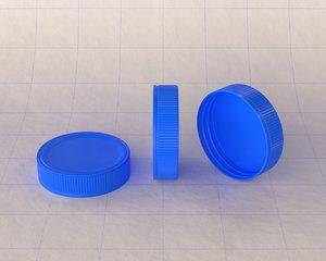 3D cap plastic