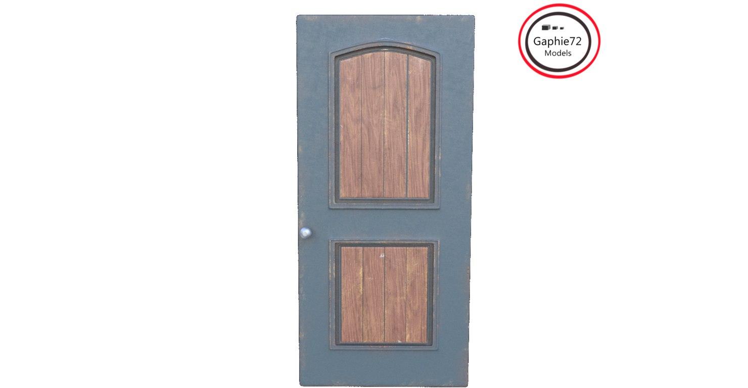 door architectural 3D