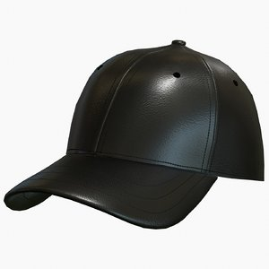 cap fitted 3D model