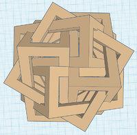 3D cube cubic