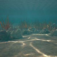 3D model sea floor