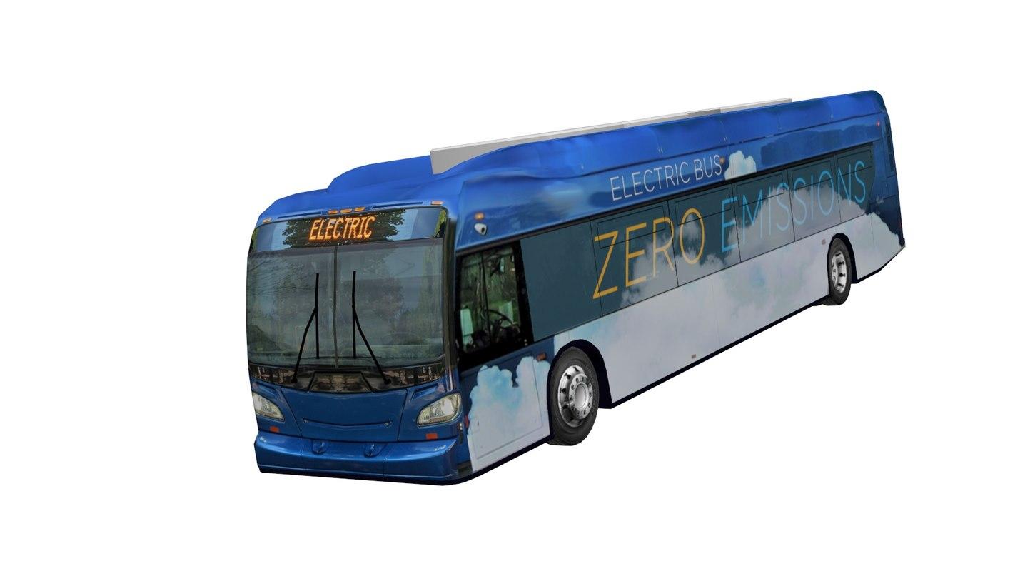 3D battery electric bus