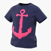 teenage t-shirt model