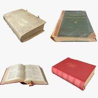 3D book bible