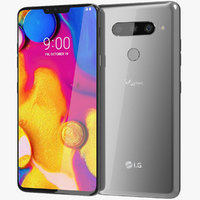 LG V40 ThinQ Platinum Gray