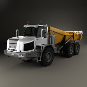 liebherr 230 ta 3D model