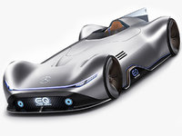 Mercedes-Benz Vision EQ Silver Arrow Concept 2018