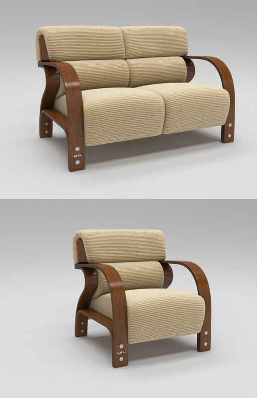 furnishing furniture seating 3D model