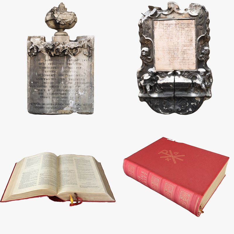 3D model religious objects