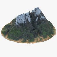 mountain v2 3D model