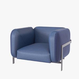 lobby armchair ragot 3D