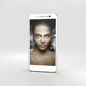 alcatel shine lite 3D model