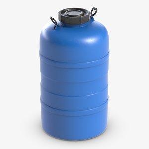 3D barrel watertank