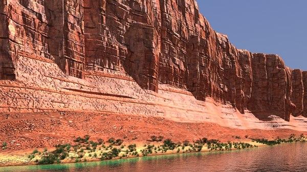 canyon river model