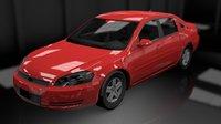 impala ls gm car 3D