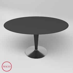 3D bombo table magis model