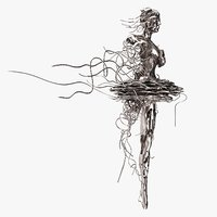 Silver Sculpture by Regardt Van der Meulin