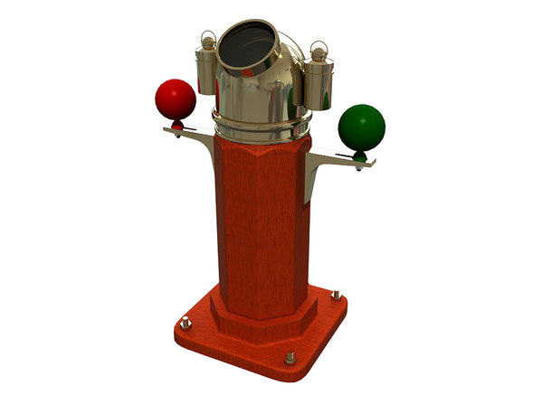 magnetic compass 3D