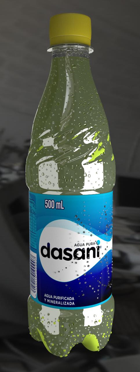 water bottle 3D