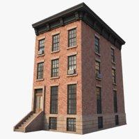 ny building nyc 3D model