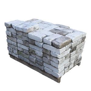 ultra realistic bricks scan 3D model