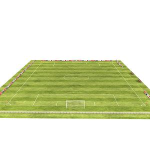 soccer field model