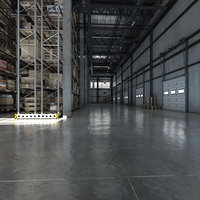 big hd warehouse 3D model