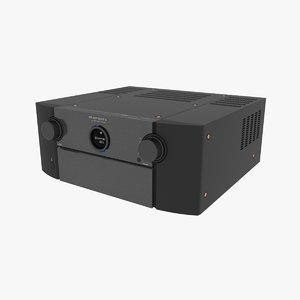 3D model marantz receiver