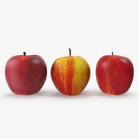 apples v-ray 3D model