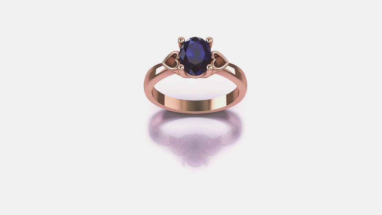 oval ring model