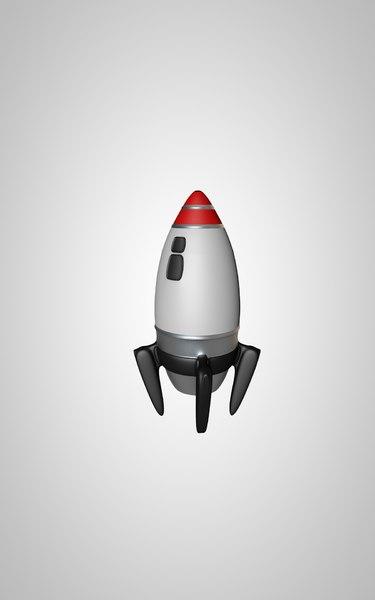 3D rocket toys