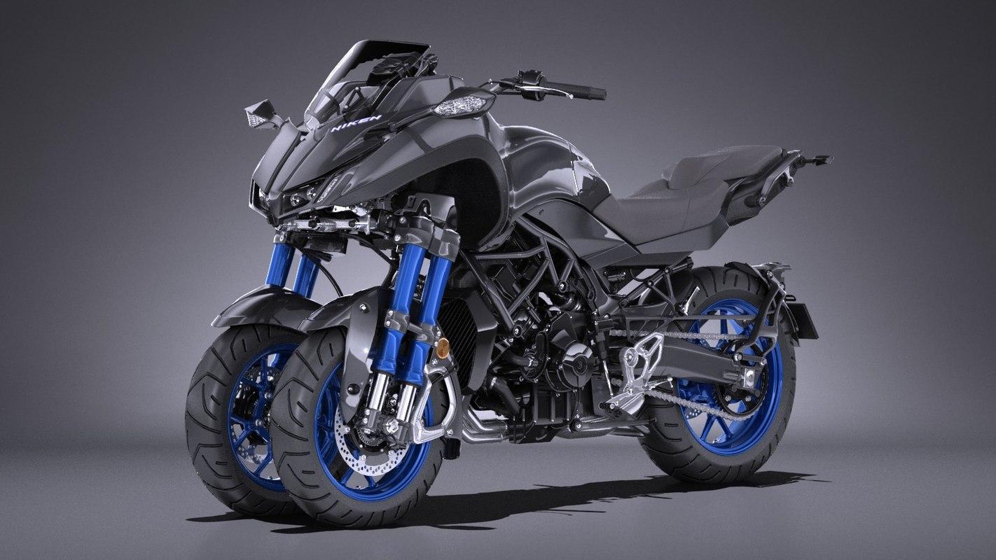 Yamaha Niken 2019 3d Turbosquid 1337873