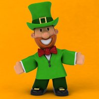 fun leprechaun ! 3D model
