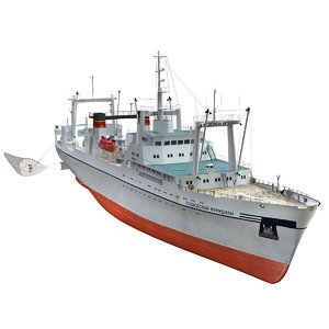 large trawler project 1288 3D