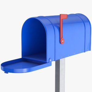 mail box 3D