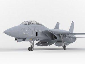 f-14 tomcat 3D model