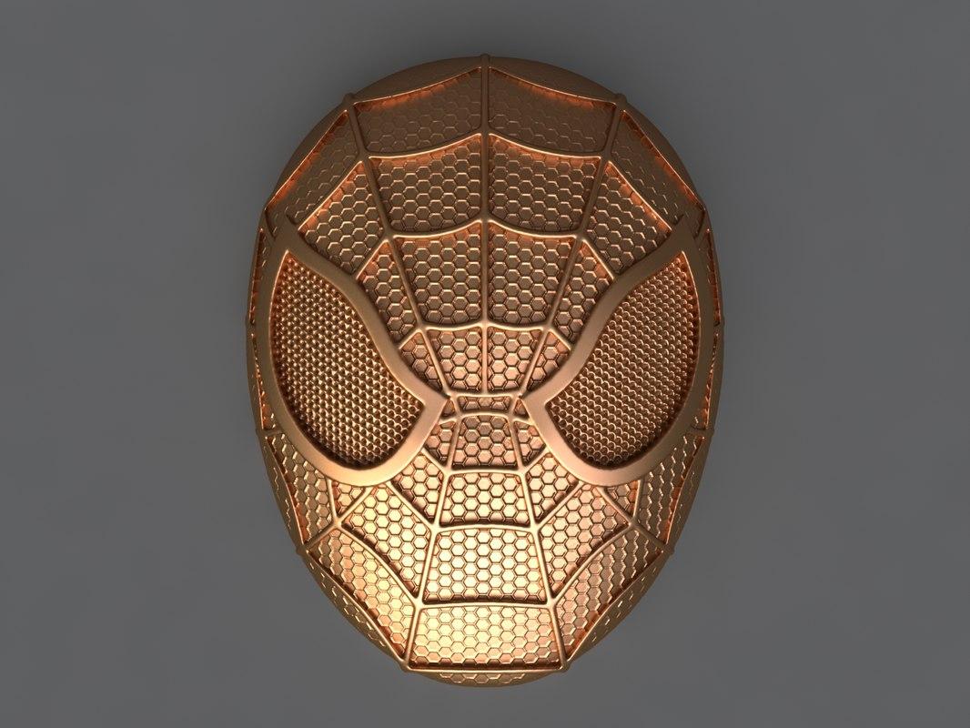 spiderman mold hand 3D model