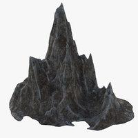 mountain v4 3D model