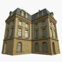 3D classical building model