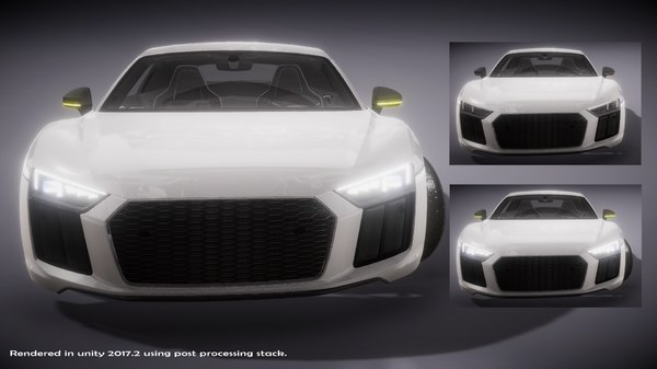 3D model super sports car vehicle
