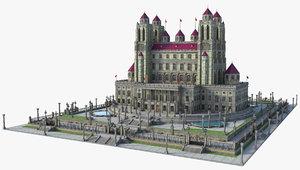 castle fantasy 3D