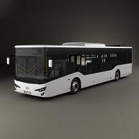 3D isuzu citiport bus