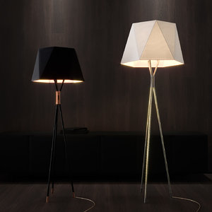 3D model solitaire cvl luminaires floor lamp