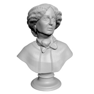3D model buste georges sand