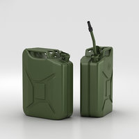 canister container 3D model